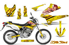 KAWASAKI KLX 250 08-13 D TRACKER GRAPHICS KIT CREATORX DECALS STICKERS LSY