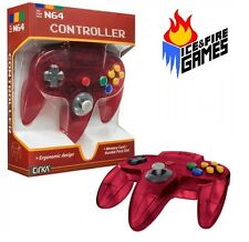 Funtastic WATERMELON RED N64 Gamepad Controller - New in Box (Nintendo 64 Joypad