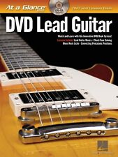 Lead Guitar - DVD Book Pack At a Glance Book with DVD NEW 000696033