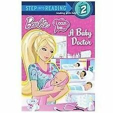 I Can Be...A Baby Doctor (Barbie) (Step into Reading)-ExLibrary