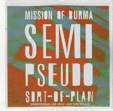 (DL612) Mission of Burma, Semi Pseudo Sort-of-Plan - 2012 DJ CD