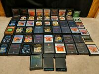 Lot of 57 Atari 2600 Games - cartridge Only, pacman, Ms pacman, Ect