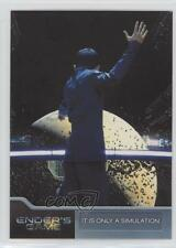 2014 Cryptozoic Ender's Game #56 It is Only a Simulation Non-Sports Card 2a1