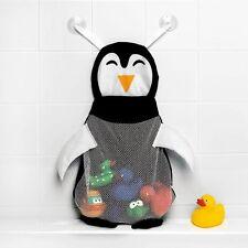 Baby Kids Bath Toy Tidy Net Organiser Storage Bag Play Boxes Mesh Holder Rose