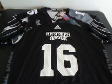 ADIDAS Men's MISSISSIPPI STATE BULLDOGS Replica Football Patriot Jersey L New