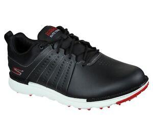 Skechers GO GOLF Elite - Tour SL 214004 Waterproof Golf Shoe - Black/Red