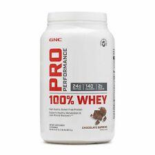 GNC PRO PERFORMANCE 100% WHEY CHOCOLATE SUPREME 1.96 LB (EXP 09/21)