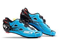 SIDI SHOT Road Cycling Shoes - Blue Sky/Black [Size: 40~47 EUR]