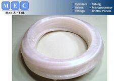 Nylon Tubing, 3 / 4 Inch Outside Diameter, 30 Meters Coil, White.