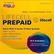 LifeCell Turkcell Prepaid Sim-karte mit 7 2 Guthaben Im D1-netz