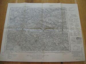 alte Landkarte Karte Nr.562 Ansbach von 1940 Flachslanden Lichtenau Heilsbronn