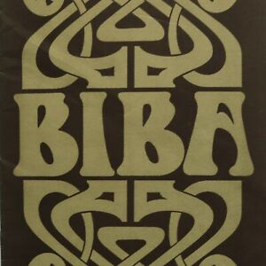 1970 Hans Fuerer New BIBA mail order catalogue vintage London boutique fashion