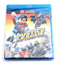 LEGO DC Justice League Attack of the Legion of Doom! Blu-Ray ONLY (NO FIGURE)