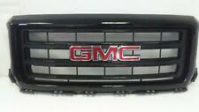 GMC SIERRA 1500 2014 2015  FRONT GRILLE W/ EMBLEM OEM  BLACK