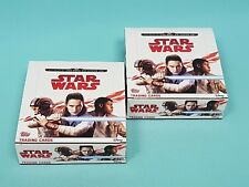 Topps Star Wars 2017 die letzten Jedi 2 x Display / 60 Booster Trading Cards