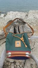 PIERO GUIDI Nylon and Leather Drawstring Bucket Bag Italy