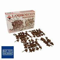 Landsknechts - Sword and Arquebus - 16th Century - Red Box Miniatures - RB72057