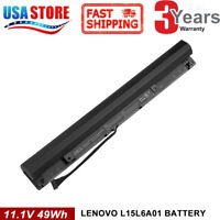 battery for Lenovo Ideapad 110-15ISK 3INR19/66-2 11.1V 49Wh 4400mAh L15L6A01