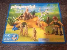 Playmobil Zoo Meerkat Family 4853 New In Box Factory Sealed