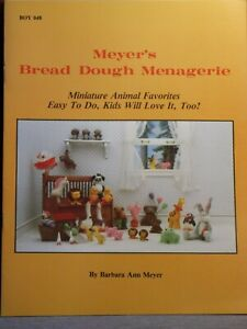 Dollhouse Miniature Book MEYERS MENAGERIEHow to animals DIY P94 Dollys Gallery