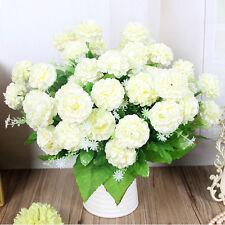 8 Heads Artificial Daisy Chrysanthemum Silk Flowers Floral Bouquet Home Decor