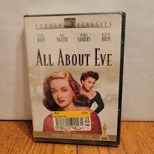 All About Eve (Studio Classics Dvd, 2002) Bette Davis Anne Baxter Brand New!