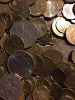 100 Gramm Restmünzen/Umlaufmünzen Hong Kong