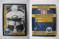 2015 SCA Darren Eliot Buffalo Sabres goalie never issued produced #d/10
