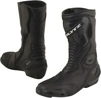 Blytz Indy Black Leather Waterproof Motorcycle Boots New RRP £99.99!!!