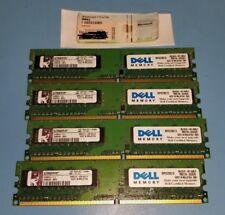 4x1GB DDR2 PC2-6400U Kingston with Windows 7 PRO OA License Key