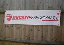 DUCATI PERFORMANCE MOTO Banner Workshop Garage Segno