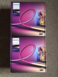 """LOT OF (2) Philips Hue Play Gradient Lightstrip 55"""" TV LED Backlight Light Strip"""