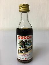 Mignon Miniature Elixir Rabarbaro Zucca 4cl 16% Vol Variante Al Tappo