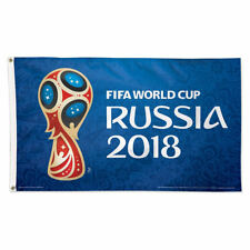 Fifa World Cup Russia 2018 Flag with Grommets