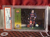 2016 Donruss Soccer Picture Perfect Gold Lionel Messi Barcelona PSA 10 🔥
