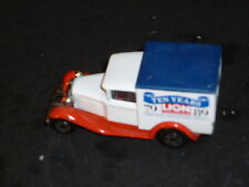 """A matchbox superfast Ford model A, Deliver van 10 Years LION """" Playworn """""""
