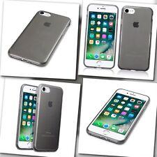 iPhone 7 Flexible Carbon Gel Design High Impact Displacement Case Smoke Black