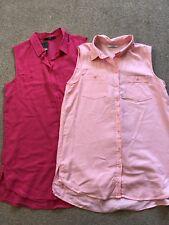 Ladies Size 10 Sleeveless Shirt/blouse Bundle, New