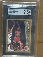 1992 Fleer Michael Jordan #238 SGC 9.5 MINT League Leader