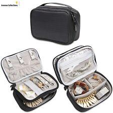 Teamoy Jewellery Organiser, Travel Jewellery Case for Necklace, Bracelet, Earrin