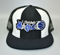 Orlando Magic AJD Lucky Stripes NBA Vintage 80s - 90s Snapback Cap Hat