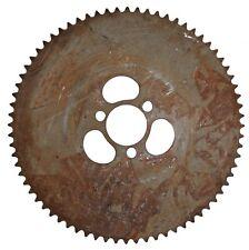 """72T #35 Steel Sprocket 2.08"""" Bolt Circle 1-1/2"""" ID Go Kart Cart Parts Mini Bike"""