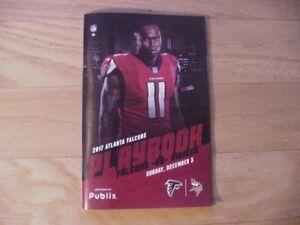 2017 Atlanta Falcons vs Minnesota Vikings Game Program-Julio Jones Cover