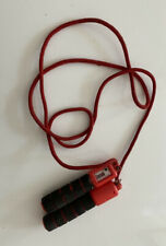 skipping rope with digital counter Red