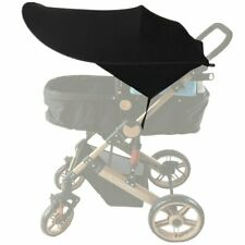 Black Universal Baby/Child Pushchair Stroller Pram Buggy Sun Shade Canopy Cover