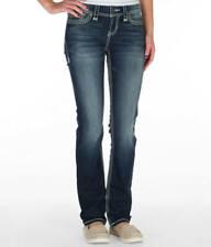 Buckle BKE Ladies Jeans Sz 26 *Addison* Straight Ankle Dark Wash PERFECT!