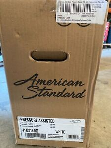 American Standard White 1.6-GPF (6.06-LPF) 12-in Rough-In Pressure Assist Single