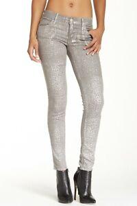 True Religon Chrissy Skinny Jeans 24 X 30