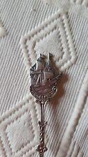 Collectie lepels Silver 90 Belgie MIDDELKERKE Zeilboot Cuillère de collection