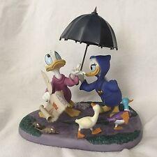WDCC Disney DD Fantasia 2000 Donald & Daisy LOOKS LIKE RAIN Figurines-MIB/COA